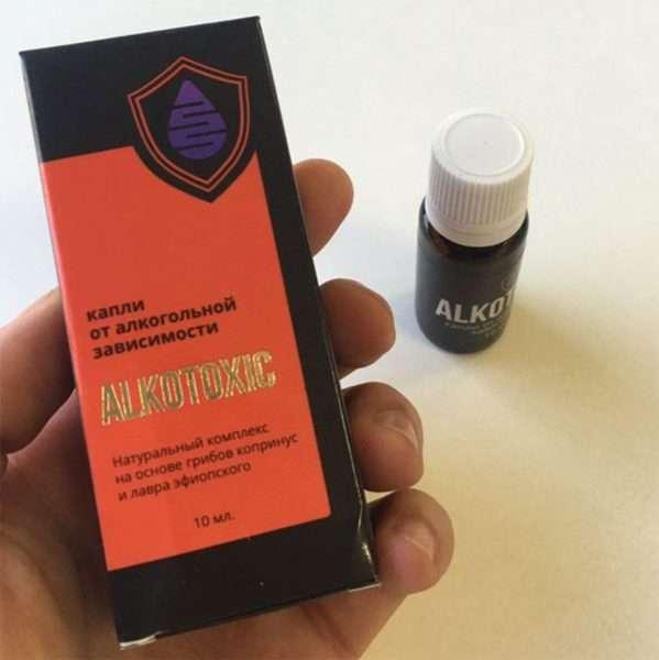 Упаковка Алкотоксик