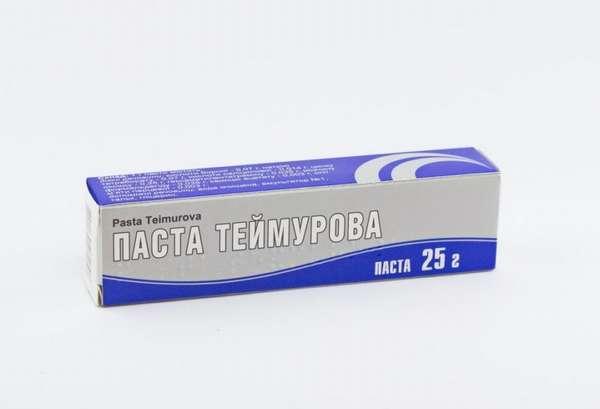 Паста Теймурова в синей упаковке