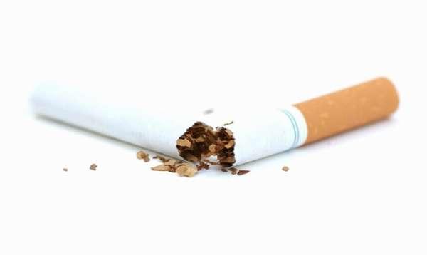 Переломленная сигарета