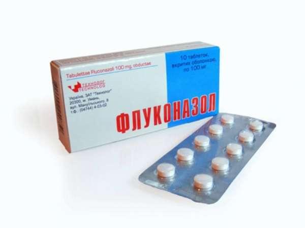 Флуконазол в таблетках