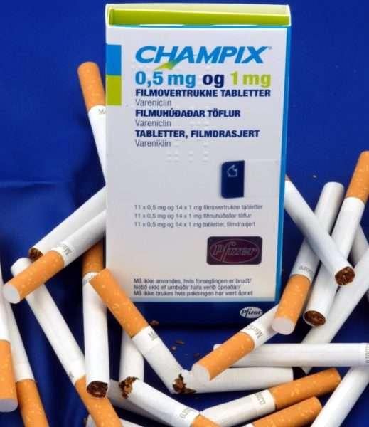 Чампикс от сигаретной зависимости