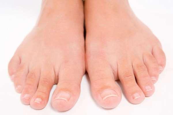 Здоровые ногти и кожа ног