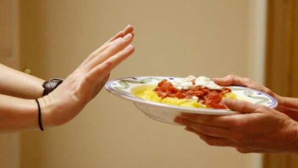 Отказ от порции еды