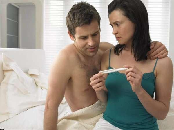 Отрицательный тест на беременность