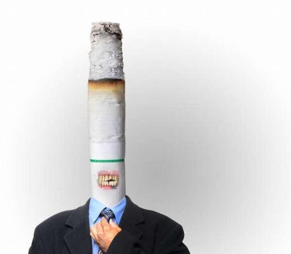 Сигарета вместо головы