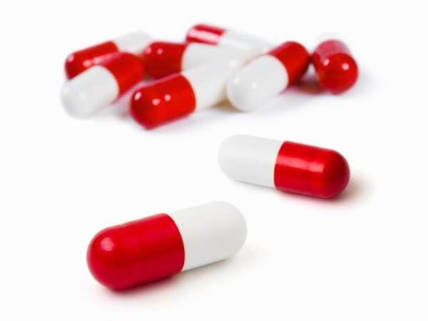 Бело - красные таблетки