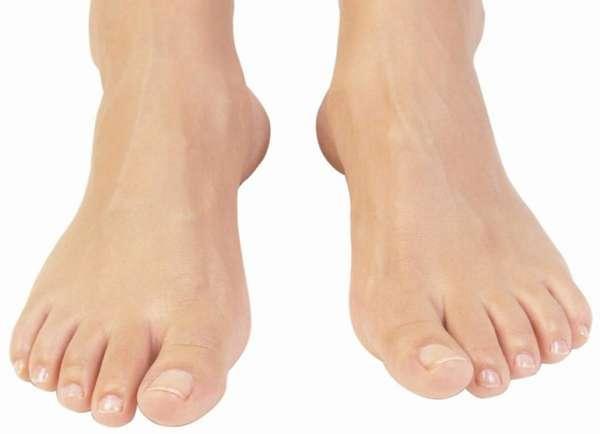 Здоровые ногти на ногах