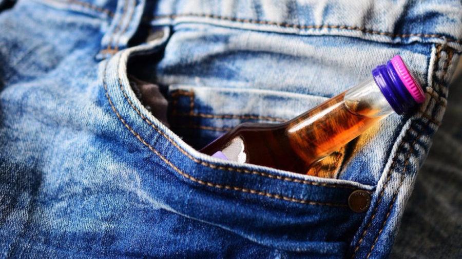 Алкоголь в кармане