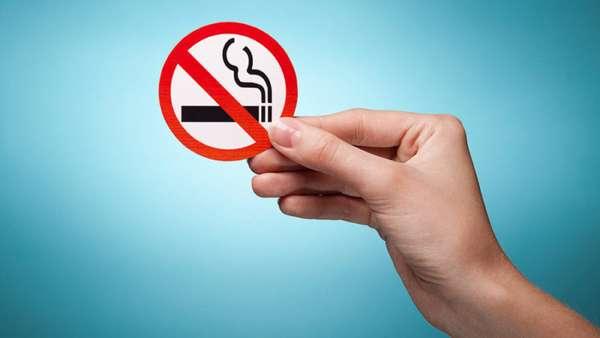Значок запрета на курение