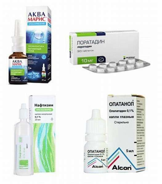 Лекарства при аллергии на злаковые