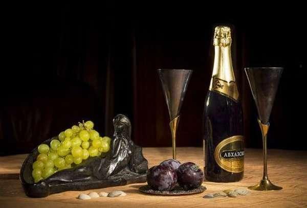 Шампанское к столу