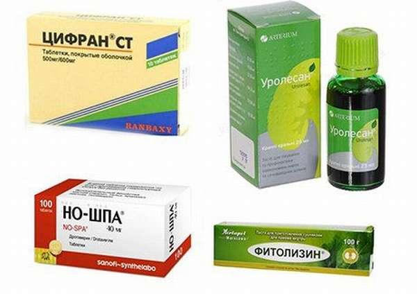 Лекарства при цистите