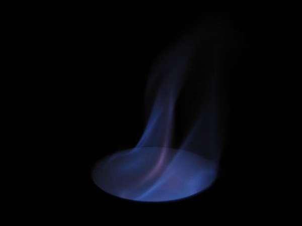Как горит этанол
