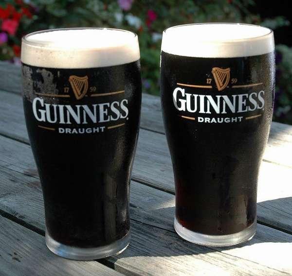 Два стакана Гиннесс