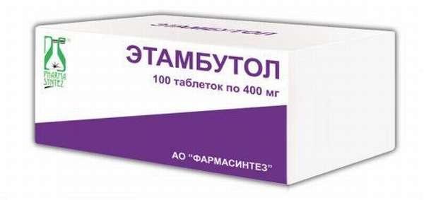 Лекарство Этамбутол