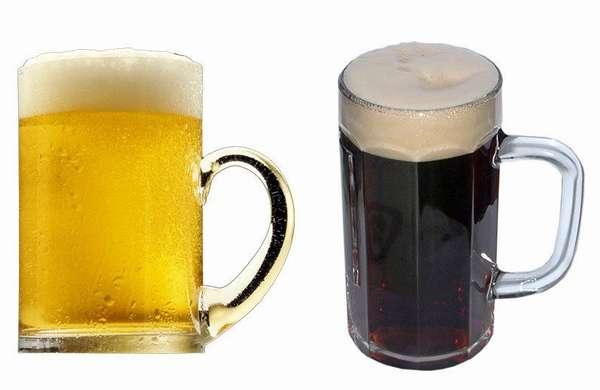 Пиво: светлое и темное