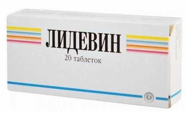 Упаковка препарата Лидевин