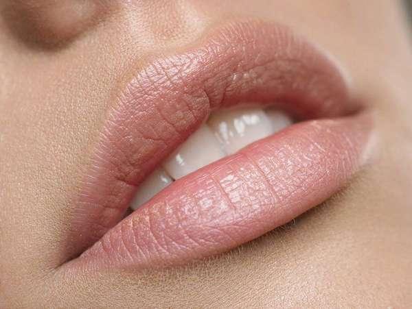 Ухоженный губы