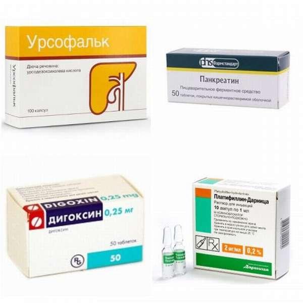 Лекарства для больной печени