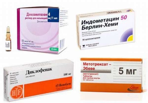 Лекарства при ревматоидном артрите