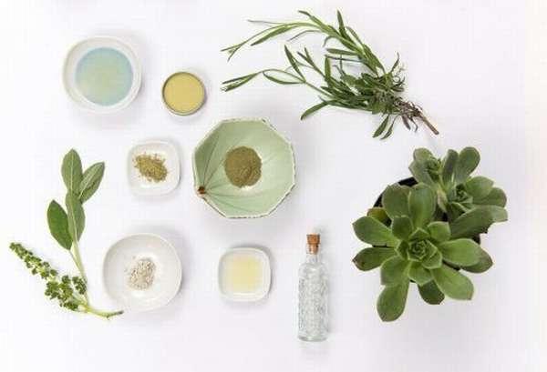 Растительные компоненты