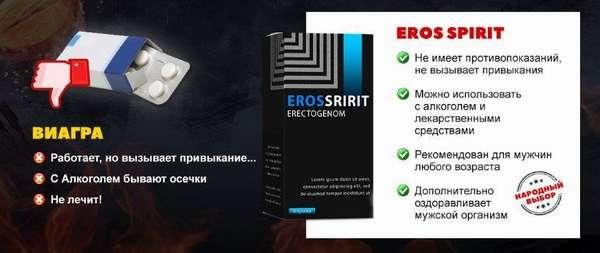 Eros spirit преимущества
