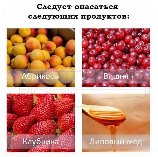 Каких продуктов надо опасаться