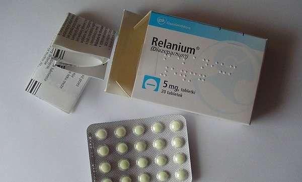 Таблетки Реланиум