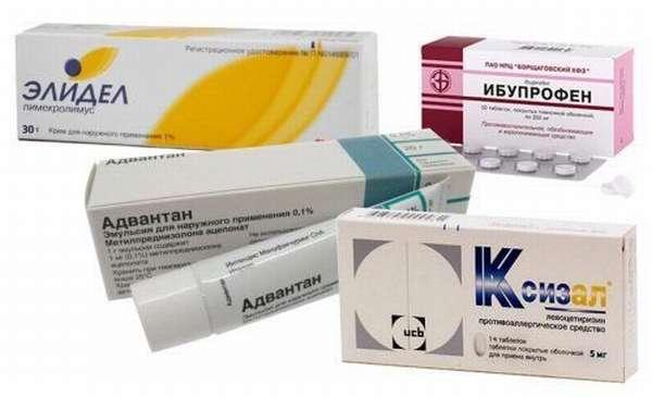 Препараты для лечения аллергии на солнце