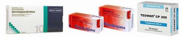 Варфарин и другие препараты
