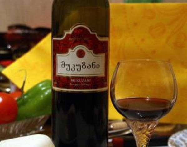 Вино мукузани