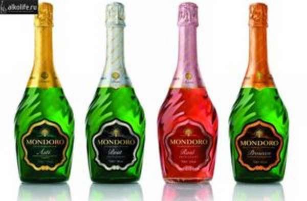 шампанское мондоро